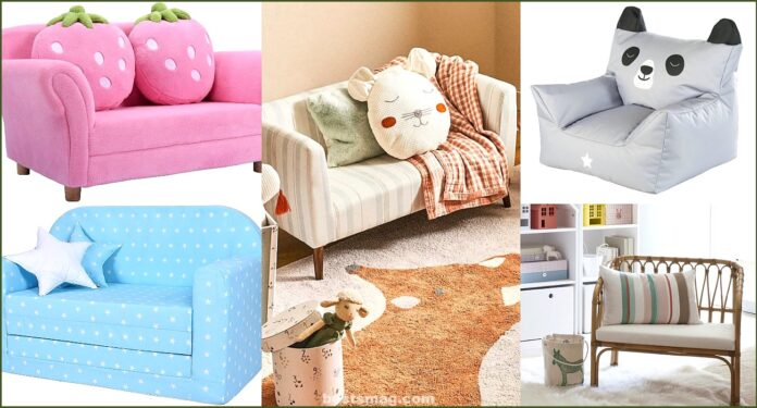 10 sofas for children that you will want to put in the children's room
