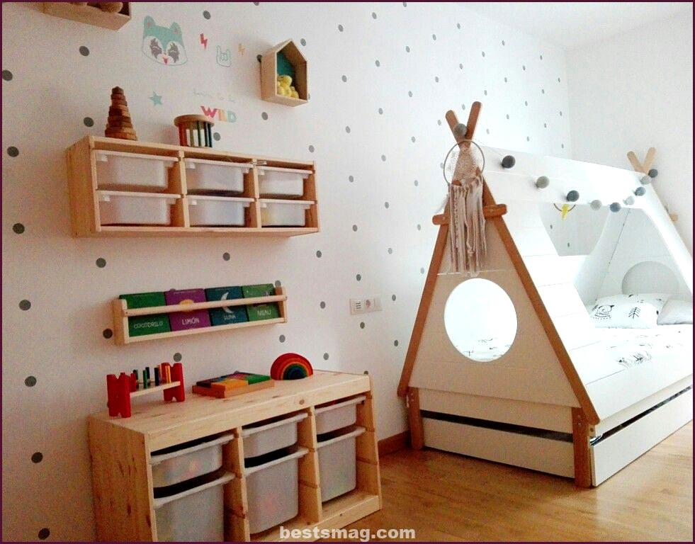 Trofast series in children's rooms