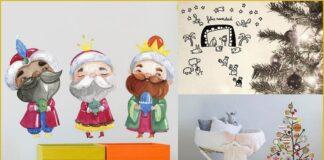 Beautiful and original Christmas vinyls for children