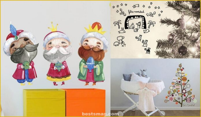 Beautiful and original Christmas vinyls for children