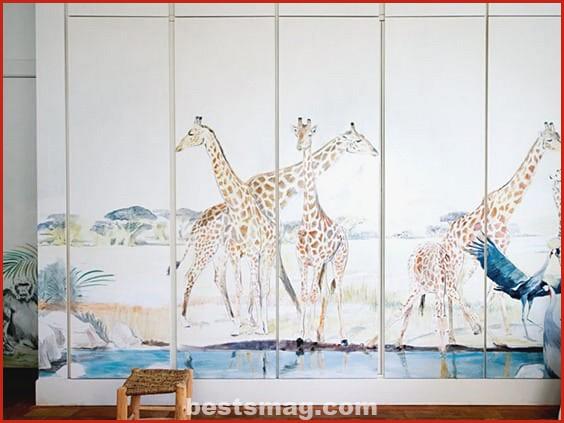 Decorate children's cabinets