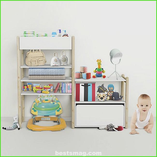 Organize the children's room with Flexa Shelfie