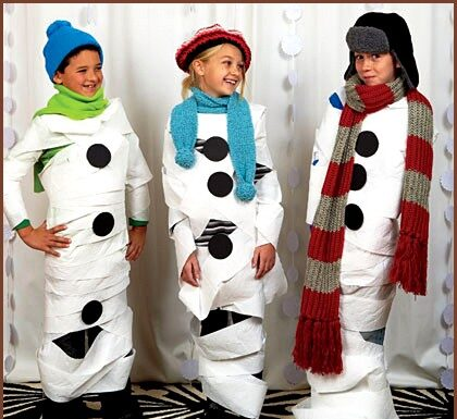 Quick Snowman Costume