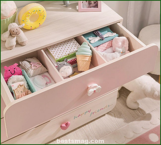 Baby girl comfortable interior