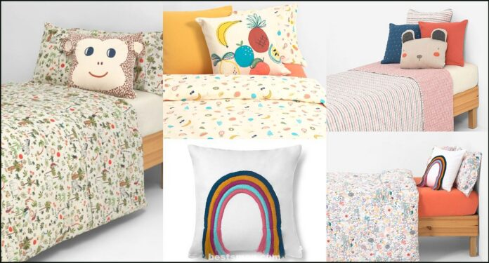 Kids texture, children's textiles for children's and baby rooms