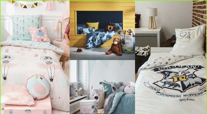 Original and inexpensive duvet covers for children and youth spaces