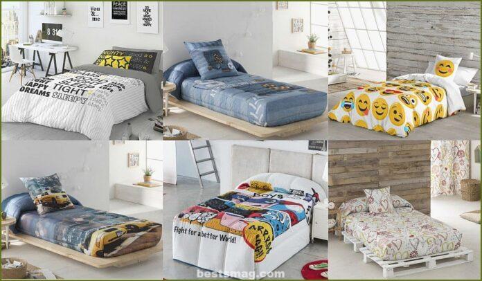 Vestir los dormitorios juveniles con ropa de cama