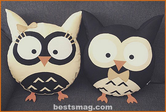 owl-cushions