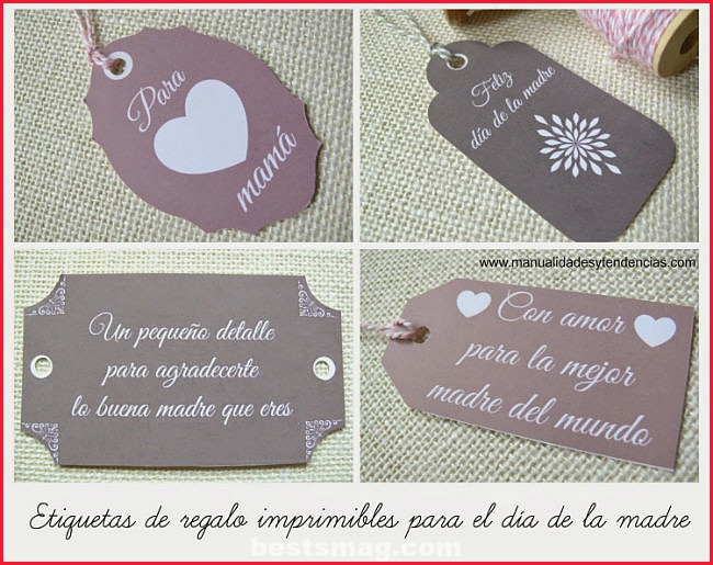 Tags for Mother's Day