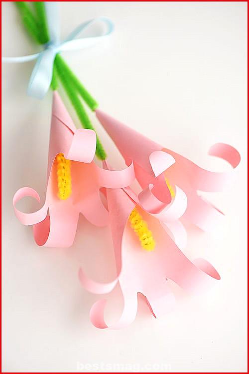 Bouquet paper hands