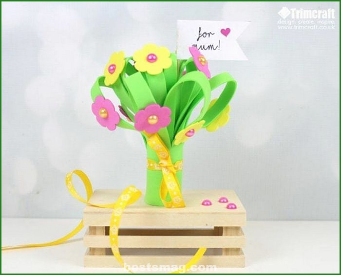 Crafts bouquets of flowers eva rubber