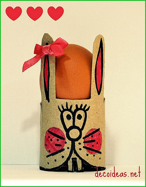 Easter egg holders crafts