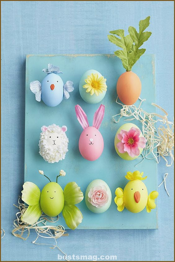 Ideas for decorating Easter eggs