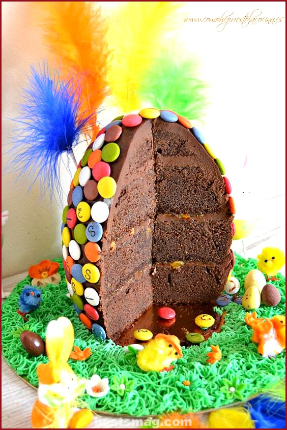 Easter cake decoration and recipes