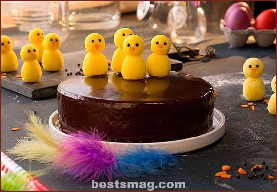 La Lechera Easter cake for children