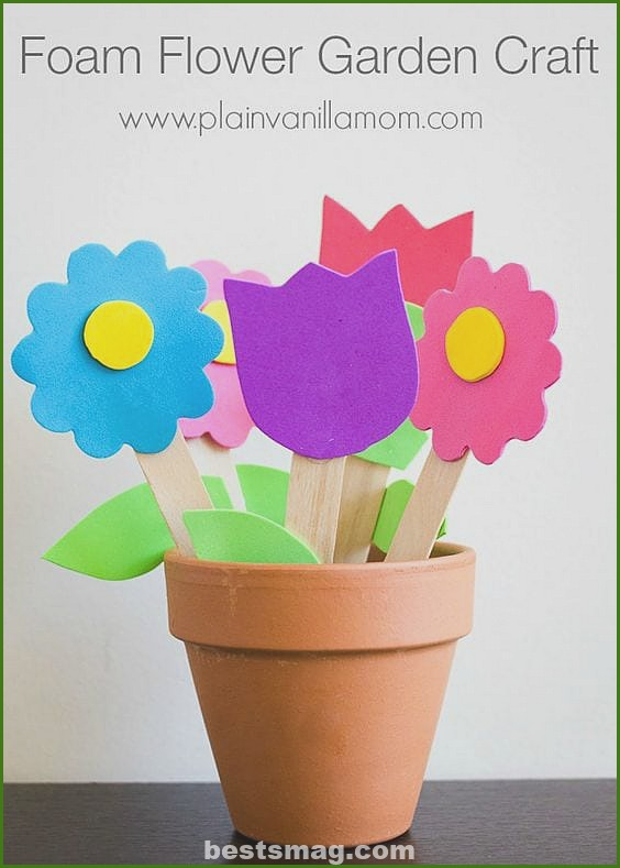 Spring crafts eva rubber