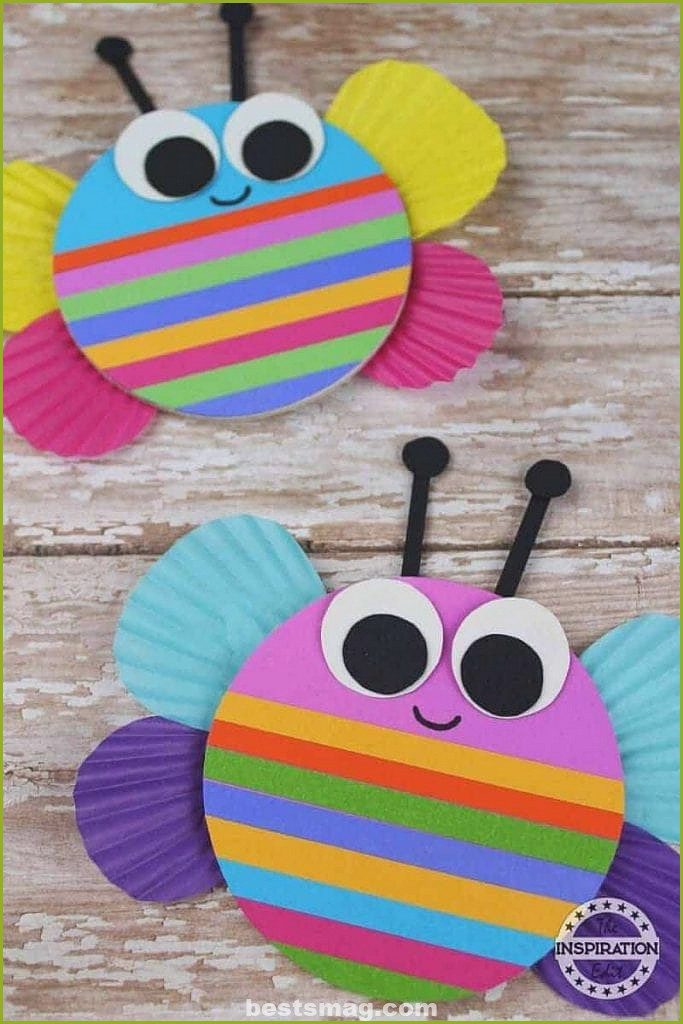 Spring crafts with paper or cardstock