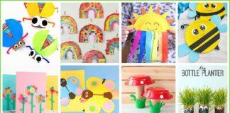 30 Manualides de Primavera para niños