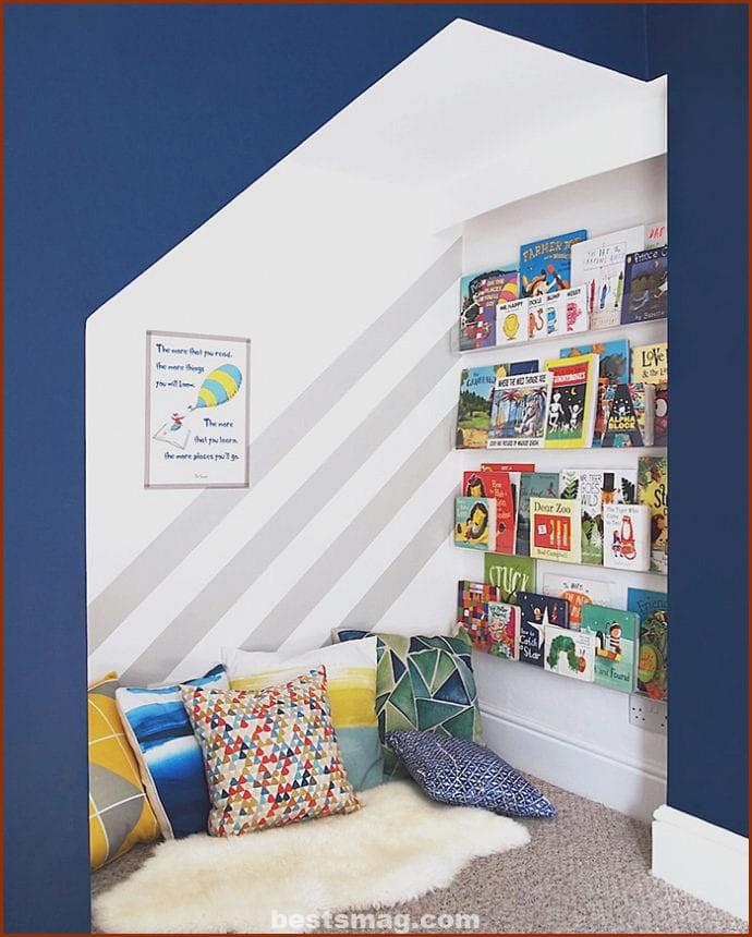 Children's reading corner