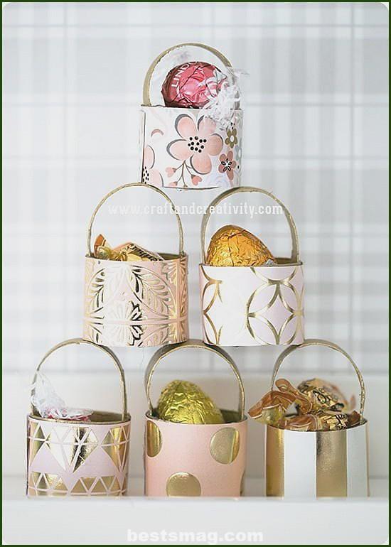 Easter crafts paper rolls