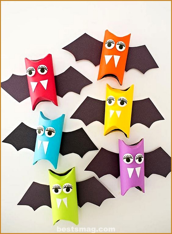 Halloween crafts with scrolls