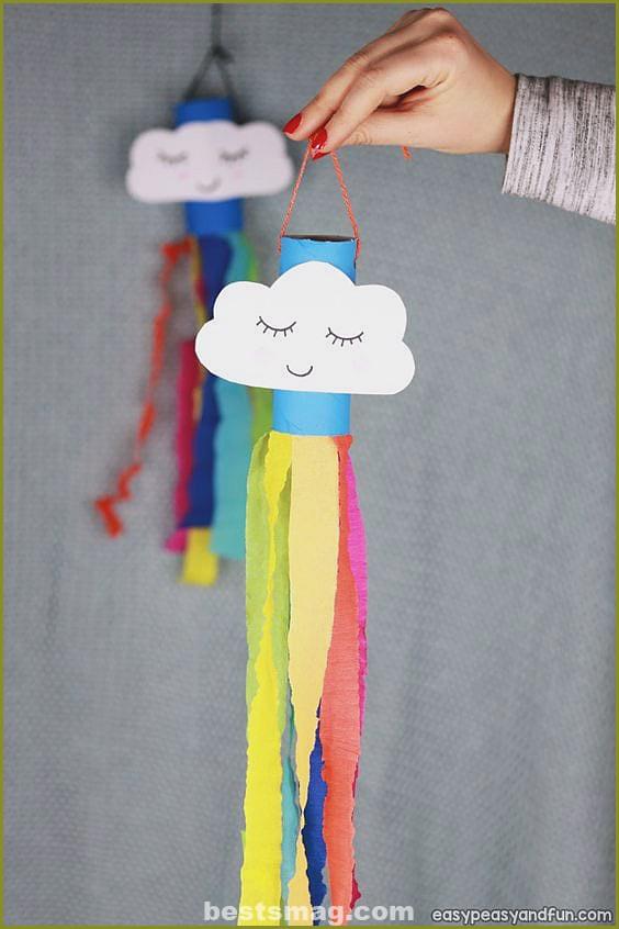 Rainbow roll paper