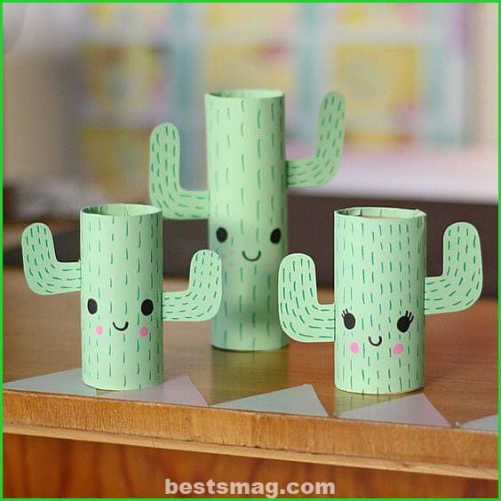 Crafts with cardboard rolls