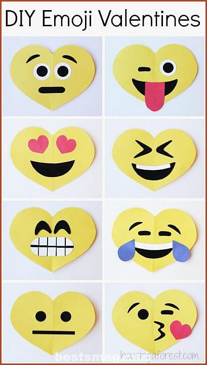 Valentine emoticons emojis
