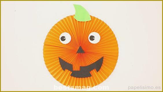 Paper pumpkins fans