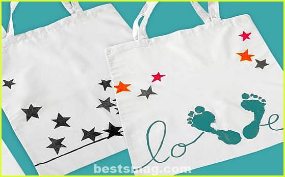 DIY decorated bags