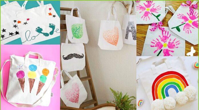 Bolsas decoradas Tote Bag