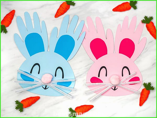 The best children's crafts for Easter