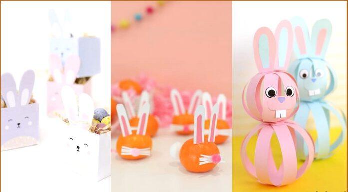 Mejores manualidades infantiles para Pascua