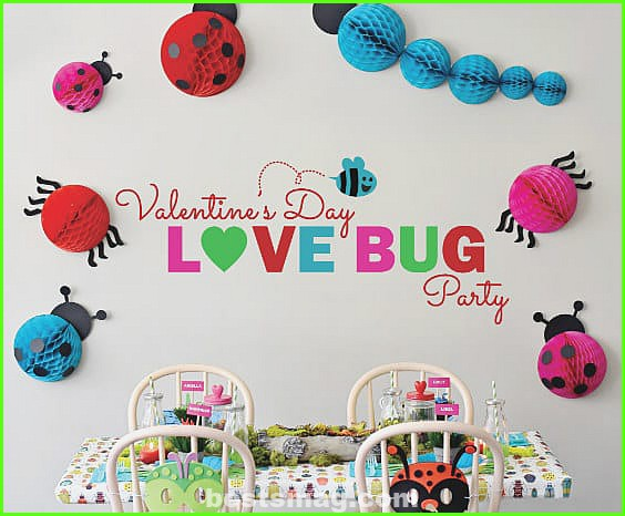 Valentine's party for kids
