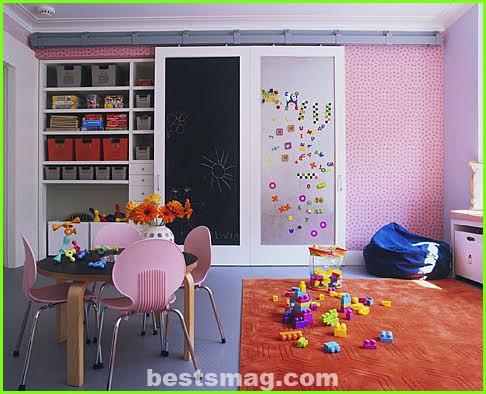 Functional and decorative closet doors