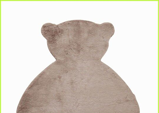 Bear rug for baby and children's rooms