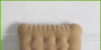 Cookie-shaped cushion