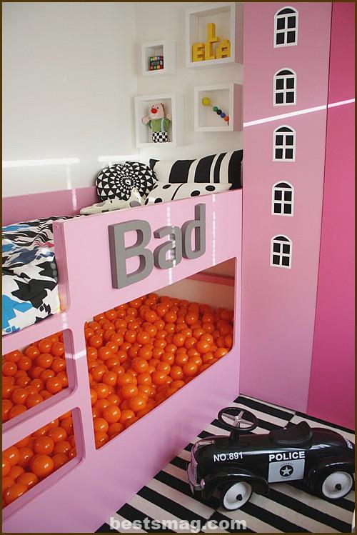 Room to sleep and play