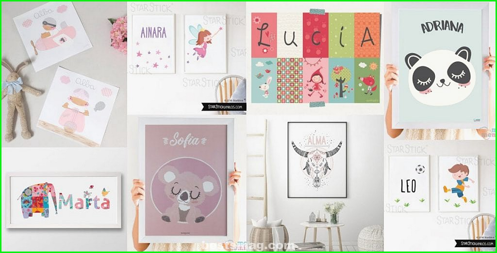 Best children's prints with names