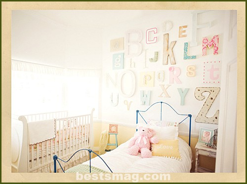 kids wall letters