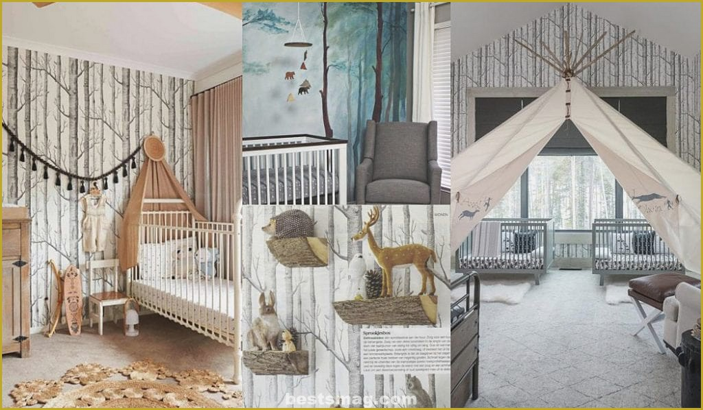 Decorate baby room forest DIY Photo Ideas