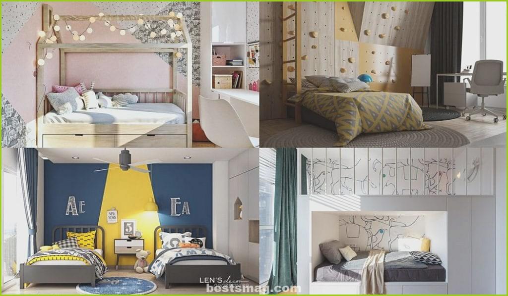 Modern design children's bedrooms