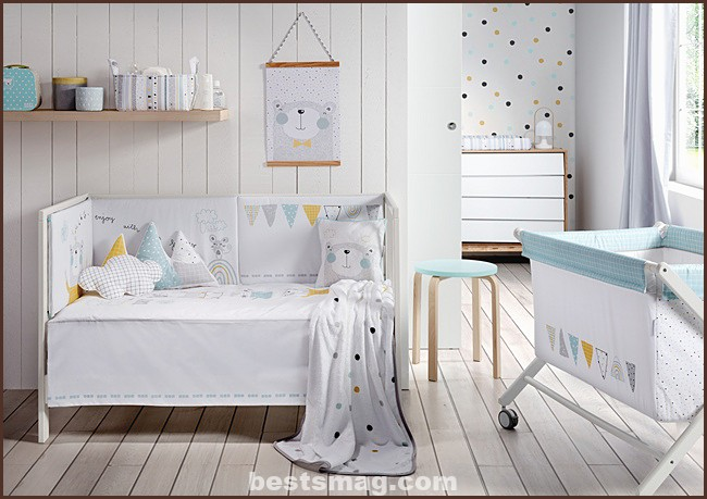 dress up the baby's room
