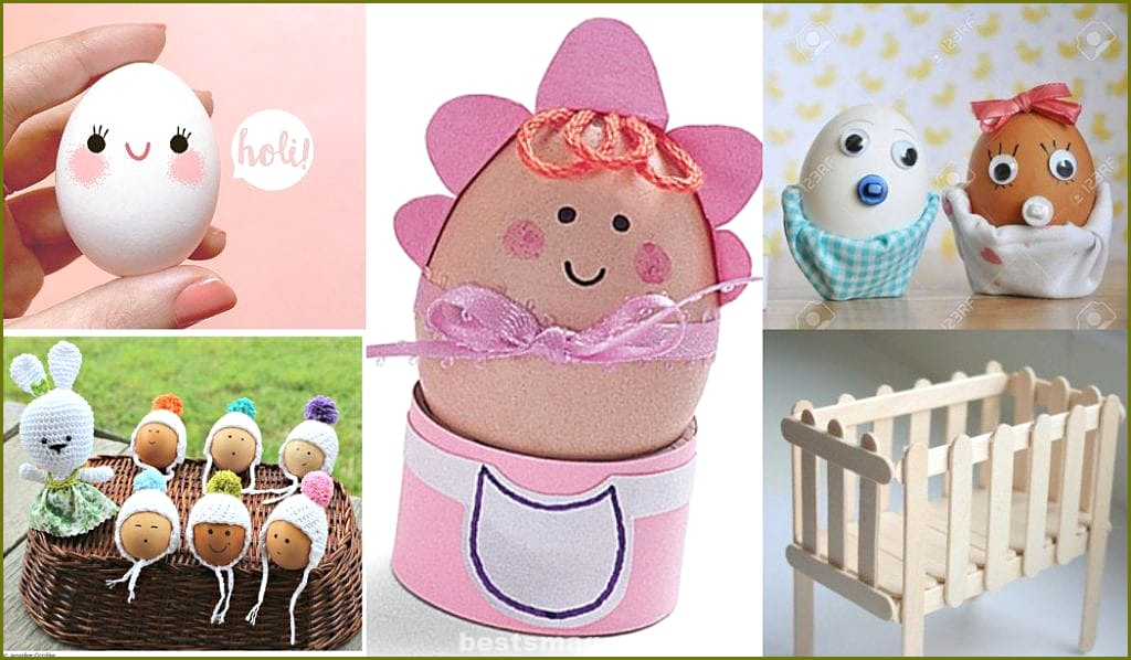 Baby egg crafts