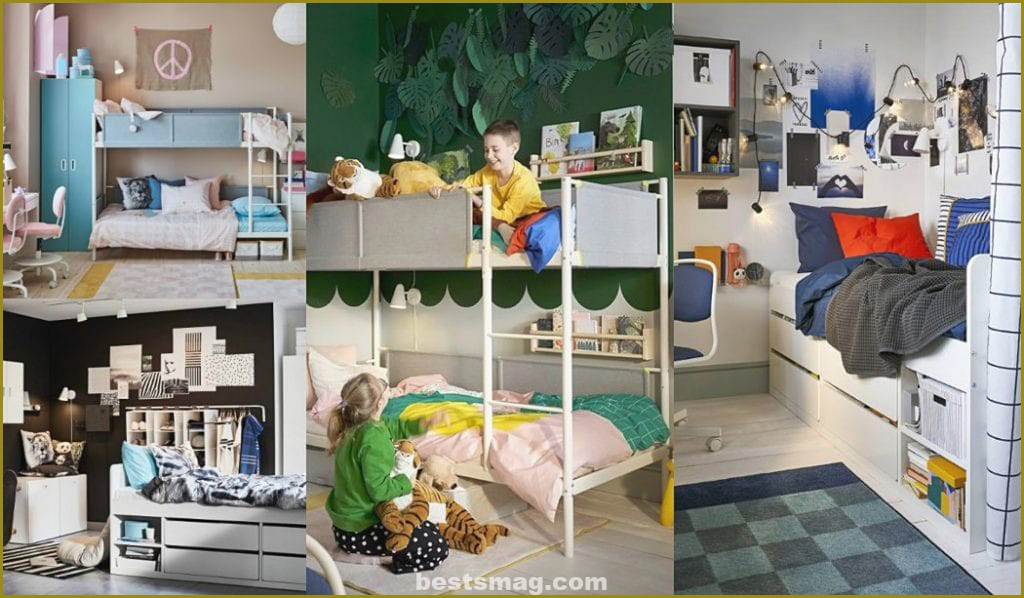 Ikea youth rooms 2020 and Ikea children's bedrooms 2020