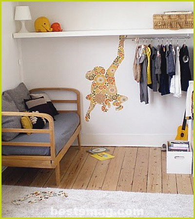 inspiration eclectic kids rooms