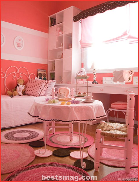 pastel themed room