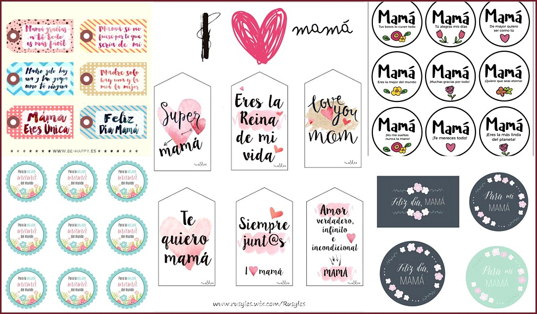 Mother's Day Tags