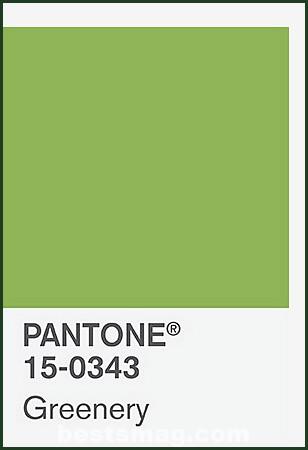 pantone-greenery