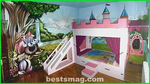 princess kids bedroom